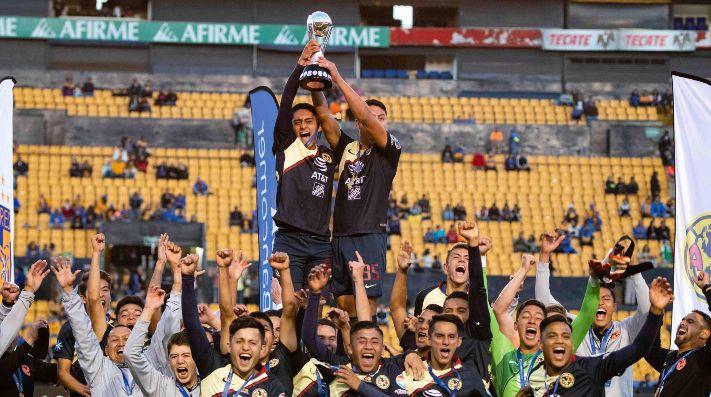 fb8dbeba689 América campeón! Las Águilas se coronaron campeones del campeonato ...