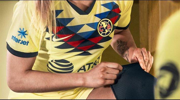 the latest dd3ba 7178e Es hermosa: Es presentada la nueva jersey oficial de América ...
