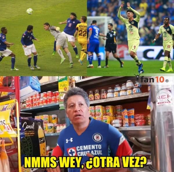 Memes De Cruz Azul Vs America 2018