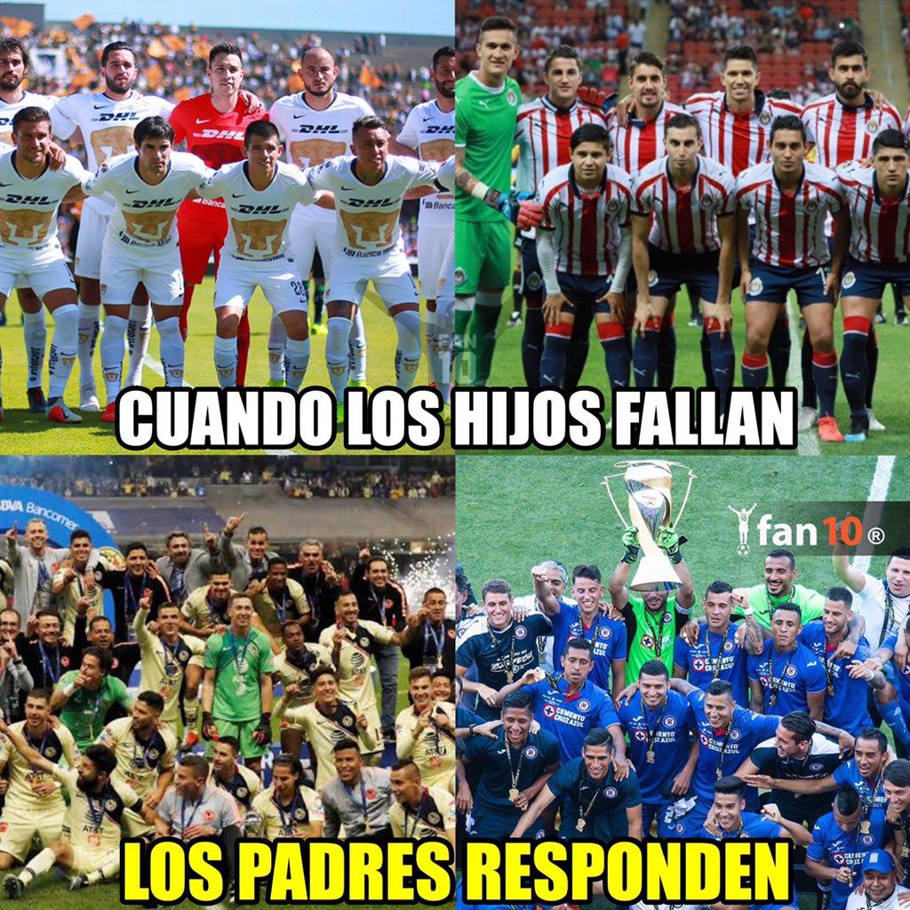 Los memes del Campeón de Campeones entre América y Tigres ...